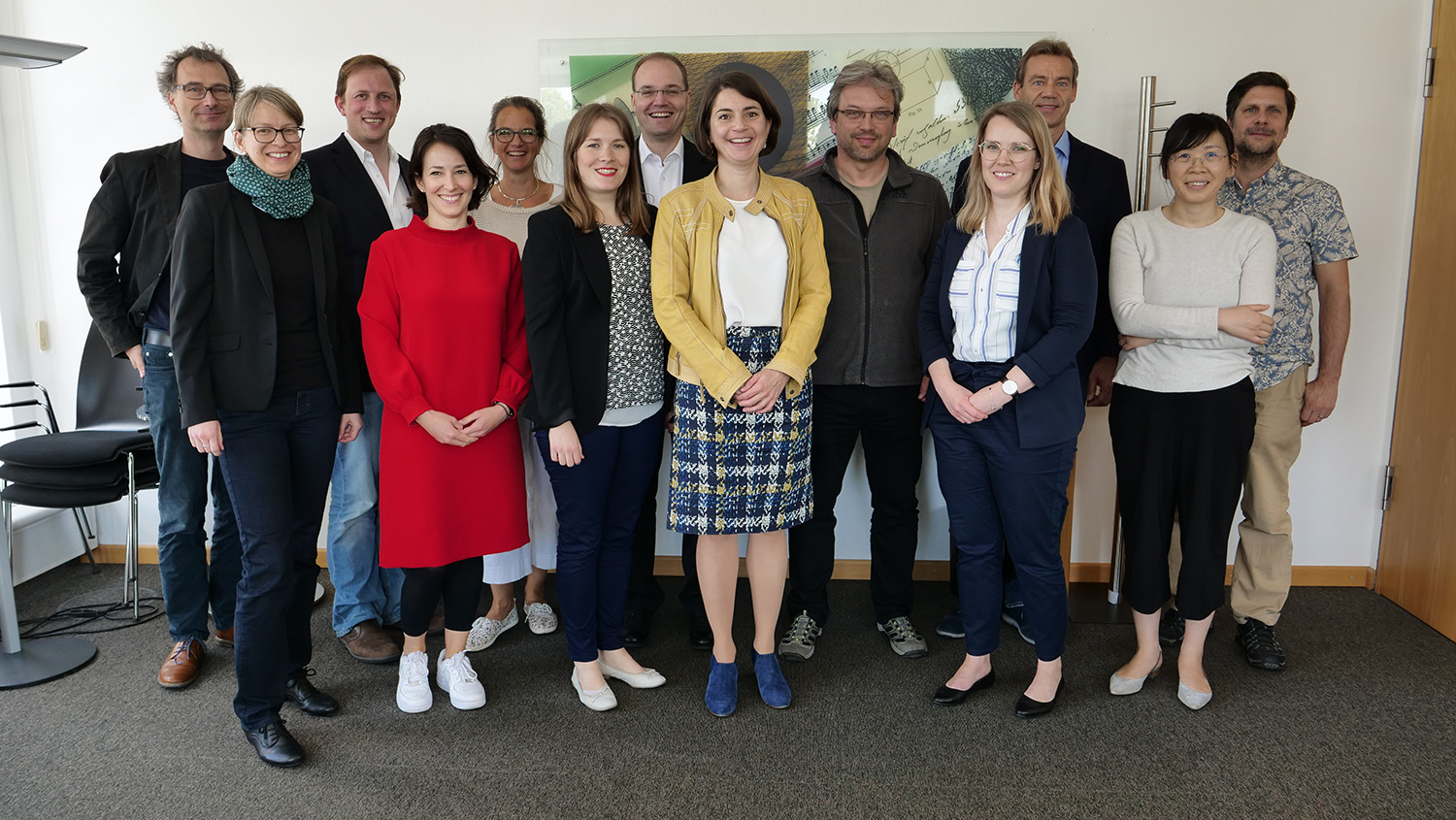 The first meetig of HIDA-Steer was held in may 2019 in the Head Office in Berlin. Picture: Helmholtz / Sandra Pahl