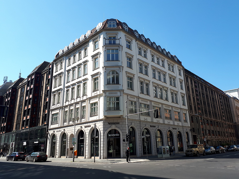 The HIDA Office is located in Friedrichstraße 171 in Berlin Mitte. Picture: Helmholtz / Elena Hungerland